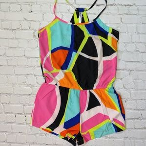 Fabletics Other - Fabletics Neema Multicolored Sleeveless Romper